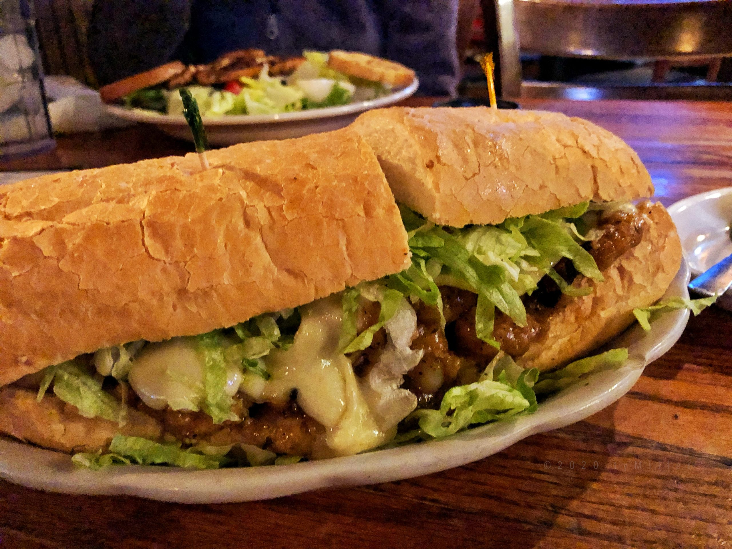 New Orleans Style BBQ Shrimp Poboy
