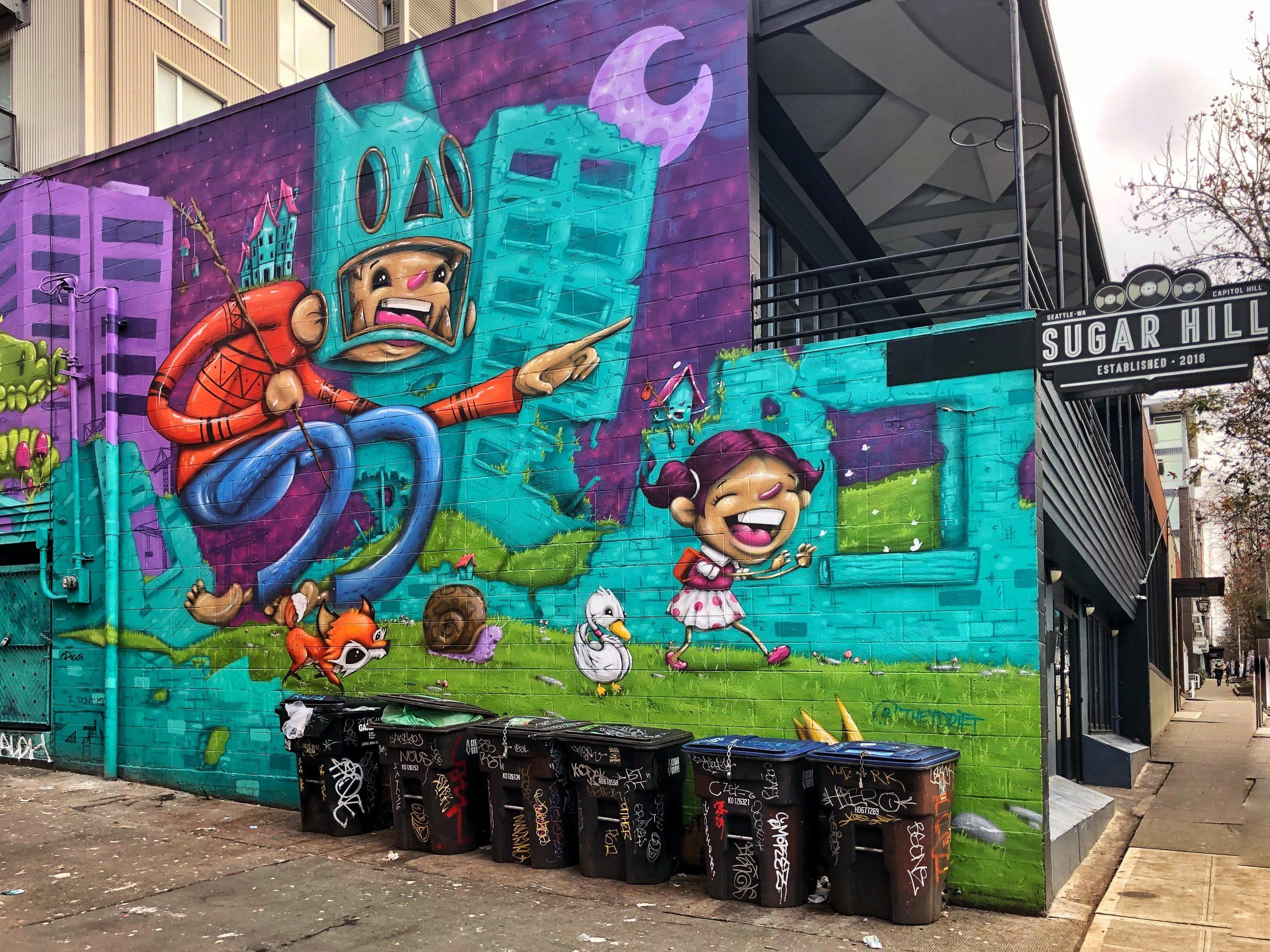 Street Art - Seattle